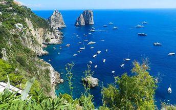 5denní poznávací zájezd do Itálie s koupáním na ostrově Capri se snídaní