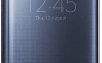 Samsung flip pouzdro pro Samsung Galaxy S6 Edge+, tm.modrá