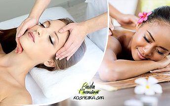 Regenerační balíček procedur v délce 90 minut. Ošetření pleti tibetskou kosmetikou masáž zad a šíje.