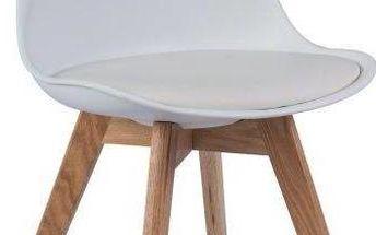 Židle Kris White - doprava zdarma!