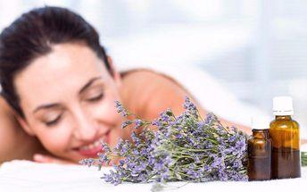 Voňavá aromaterapeutická masáž a zábal pro ženy