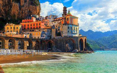 6denní poznávací zájezd do Itálie s koupáním na termálním ostrově Ischia