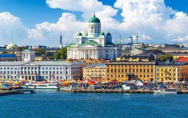 6denní expedice: Krásy Pobaltí s návštěvou Helsinek! 2 termíny, s ubytováním.