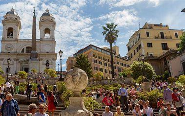 Poznávací zájezd do Říma s koupáním u moře, ubytováním a snídaní.