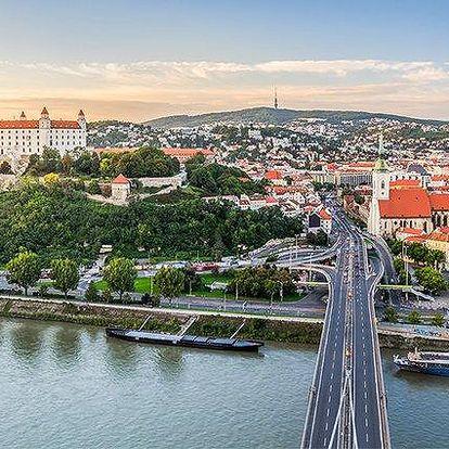 2 až 4denní pobyt se snídaněmi a možností wellness v hotelu Modena v Bratislavě pro 2