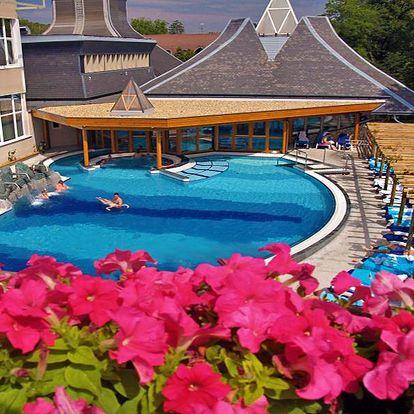 Hévíz na 5 dní v luxusním 4* superior hotelu Danubius s wellness s termální vodou