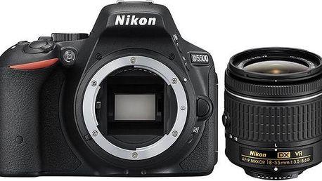Nikon D5500 Black + AF-P 18-55 VR