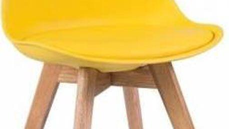 Židle Kris Yellow - doprava zdarma!