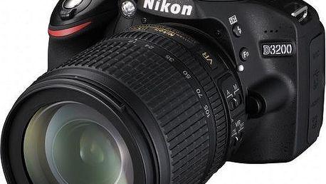 Nikon D3200 + 18-105 AF-S DX VR