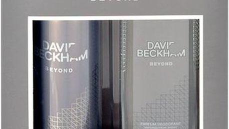 David Beckham Beyond dárková sada M - Deodorant 75ml + 150ml deodorant