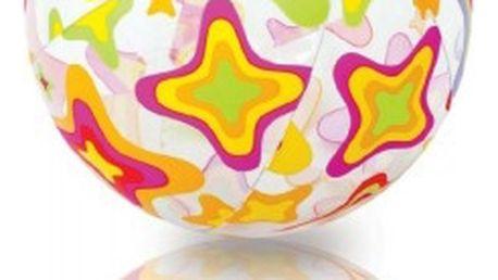 Nafukovací míč Intex barevný mořský motiv