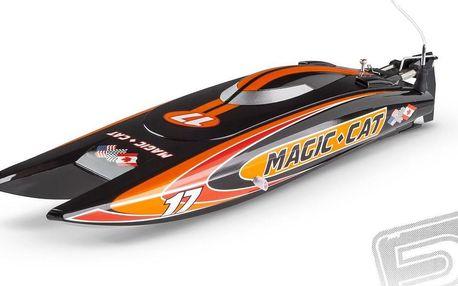 RC člun Pelikan Joysway Magic Cat RTR + 200 Kč za registraci