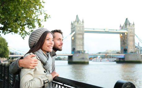 4denní poznávací zájezd do Londýna s ubytováním včetně snídaně a trajektu.