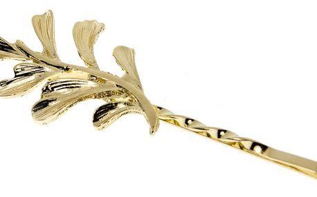 Fashion Icon Spona na vlasy s dekorem větvičky malá