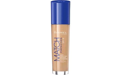 Rimmel London Match Perfection Foundation SPF18 30ml Make-up W - Odstín 201 Classic Beige