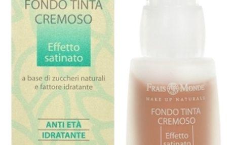 Frais Monde Make Up Naturale Creamy Foundation Make-up 30ml pro ženy Pro bezchybnou pleť - Odstín 1