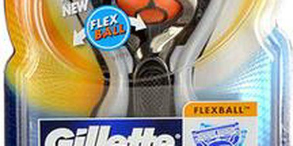 Gillette Fusion Proglide Flexball Holicí strojek M Holicí strojek s dvěma hlavicemi