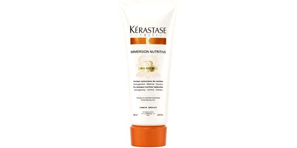 Kérastase Nutritive Immersion Iris Royal Pre-shampoo 200ml Balzám na vlasy W poškozená krabička Pro extra suché vlasy