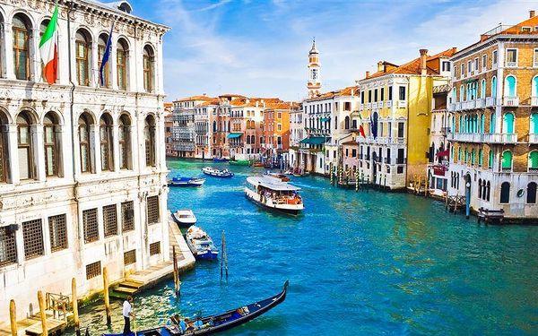 Benátky a Verona: 4denní zájezd. Ubytování se snídaní a možnost koupání!