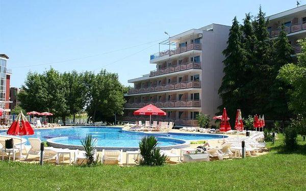 Bulharsko - Primorsko na 8 až 12 dní, snídaně s dopravou pardubice, letecky z Prahy nebo letecky z Ostravy 250 m od pláže