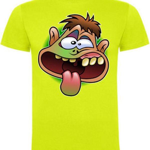 Tričko s vlastním potiskem do velikosti A4