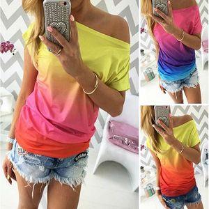 Dámské duhové tričko Rainbow