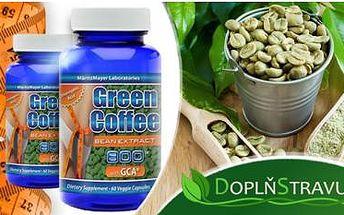 1x 60 kapslí 8x silnějšího Green Coffee Extract! Nejsilnější přírodní přípravek pro rychlé hubnutí na českém trhu!