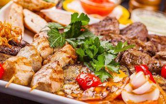 Mix grill plný masa až pro 4 osoby