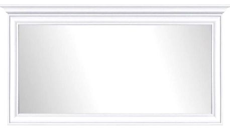 Zrcadlo Lettore v bílém rámu