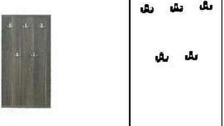 SCONTO OPEN Předsíňový panel