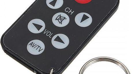 Univerzální IR mini dálkový ovladač na televize