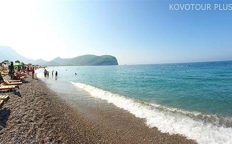 Černá Hora, Budvanská riviéra, Hotel Savojo Club, polopenze