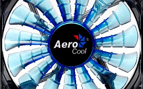 AeroCool Shark Fan, 140 mm, modrá - EN55468
