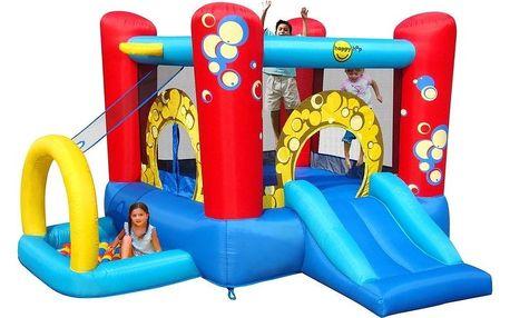 Skákací centrum Happy Hop 4 v 1 BUBLINA, nafukovací atrakce pro toto léto