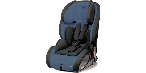 CASUALPLAY Autosedačka Multifix 9-36 kg 2015 - Blue steel
