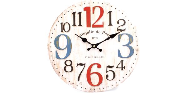 Nástěnné hodiny velké číslice , HLC91293