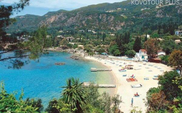 Řecko, Korfu, Hotel Paleo 200 metrů od pláže, letecky, polopenze