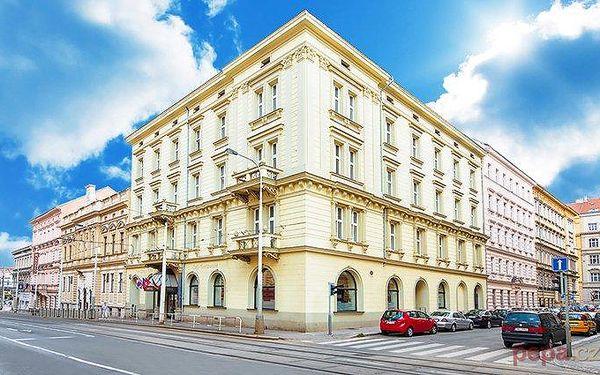 2–3denní pobyt pro dva se snídaněmi v centru Prahy v hotelu Praga 1885****
