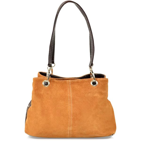 Kožená kabelka Gigi, velbloudí