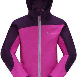 ALPINE PRO Dívčí sportovní bunda Humano - fialová