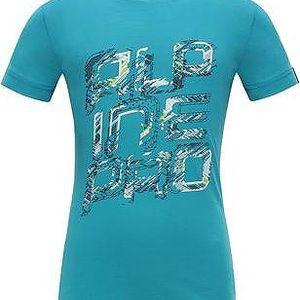 ALPINE PRO Dívčí funkční tričko STYGO 2- modré