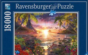 Ravensburger Západ slunce Lassen 18000 dílků