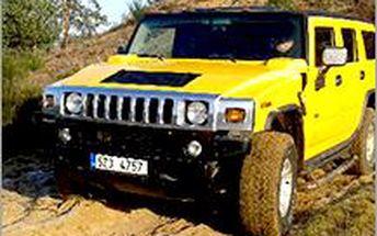 Adrenalinová terénní jízda offroadovým speciálem NISSAN PATROL nebo HUMMER H2 za super cenu.