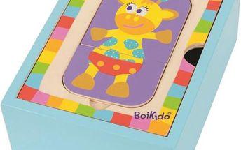 BOIKIDO Puzzle box zvířátka