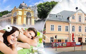 Mariánské Lázně ve 3* hotelu: 3, 4 či 6 dní pro 2 osoby vč. polopenze + masáže, zábaly a bazén!
