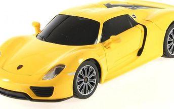 Lamps RC Porsche 918 Spyder 1:24 žlutý