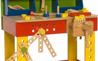 Bigjigs Toys Ponk - pracovní stůl