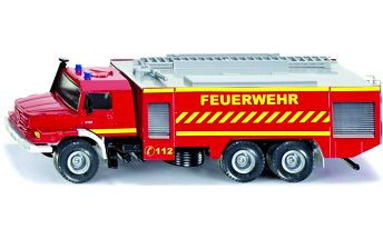 SIKU Super - Mercedes Zetros Fire Engine, 1:50