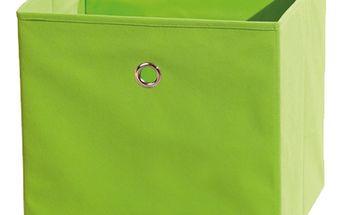 Textilní box Winny, zelený