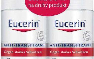 Eucerin Kuličkový antiperspirant (Anti-Transpirant) 2 x 50 ml